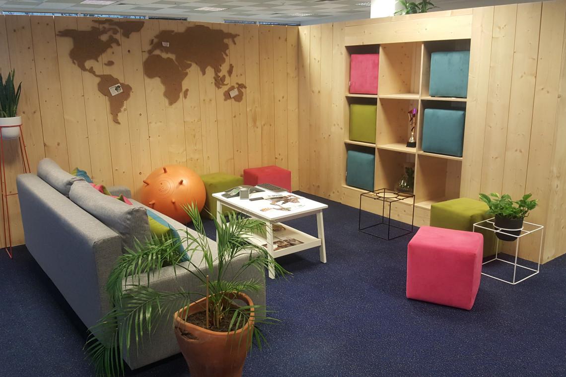 Kreatywna aranżacja przestrzeni biurowej