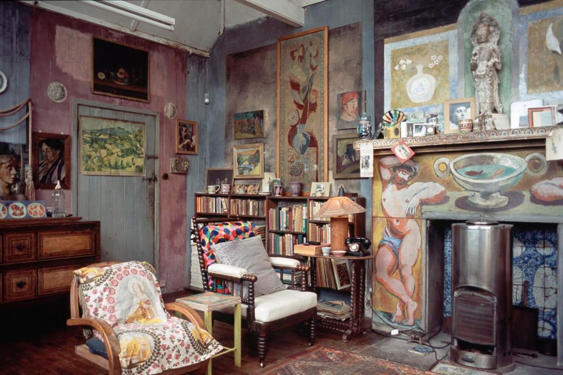 Krzesło jak z domu artystycznej bohemy