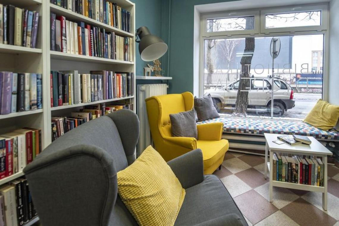 Łódź odświeżyła jedną ze swoich bibliotek