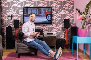 Artur Indyka: Szalenie lubię teatralność we wnętrzach