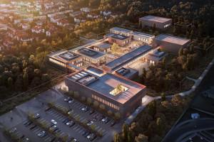 Tak będzie wyglądać kampus laboratoryjny Głównego Urzędu Miar w Kielcach. To projekt BDM Architekci