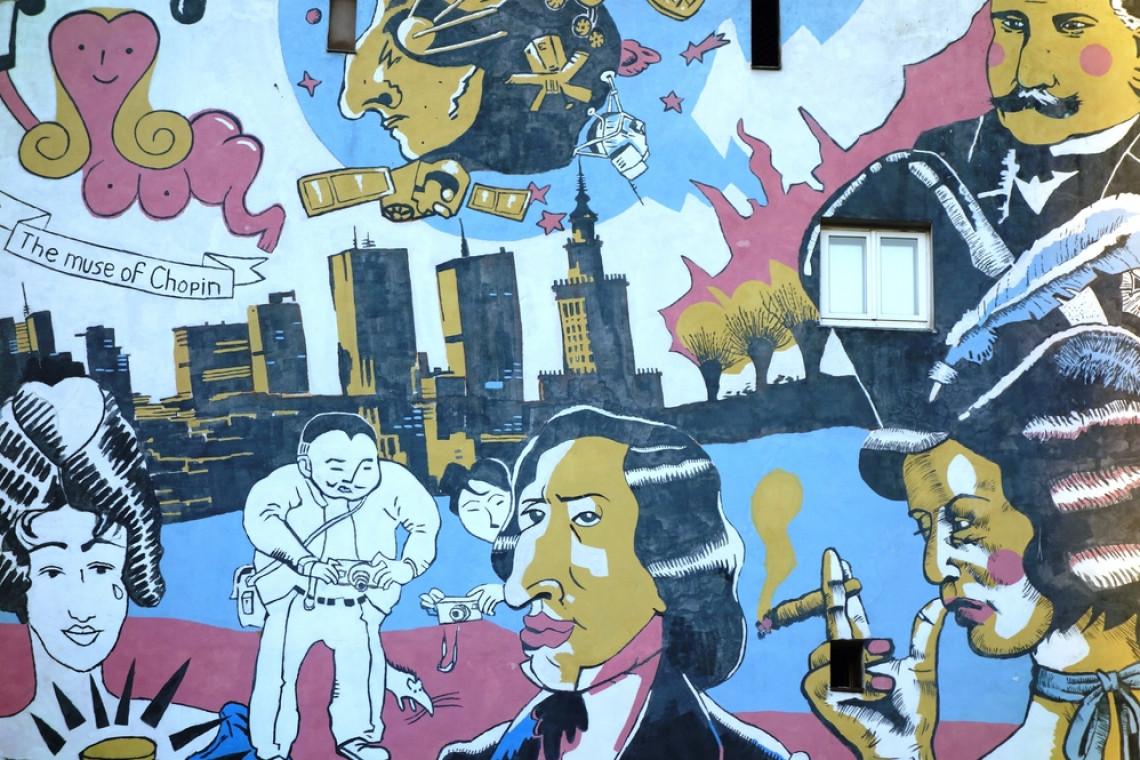 O muralach i sztuce ulicznej na 4 Design Days. Wśród gości legendy polskiego street artu