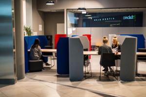 Port Łódź z designerską przestrzenią do coworkingu