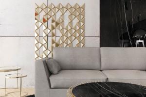 Mosiężne dekoracje ścienne wykonane tradycyjną technologią odlewniczą