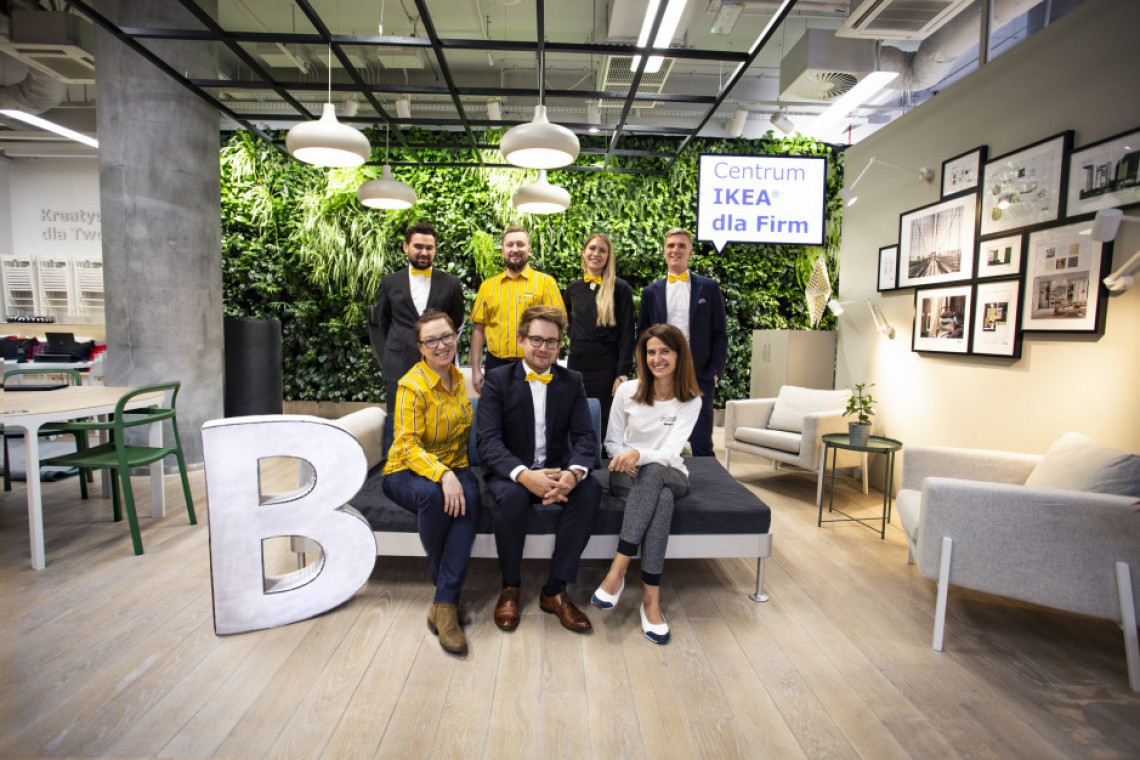 Własne B. łączy siły z IKEA