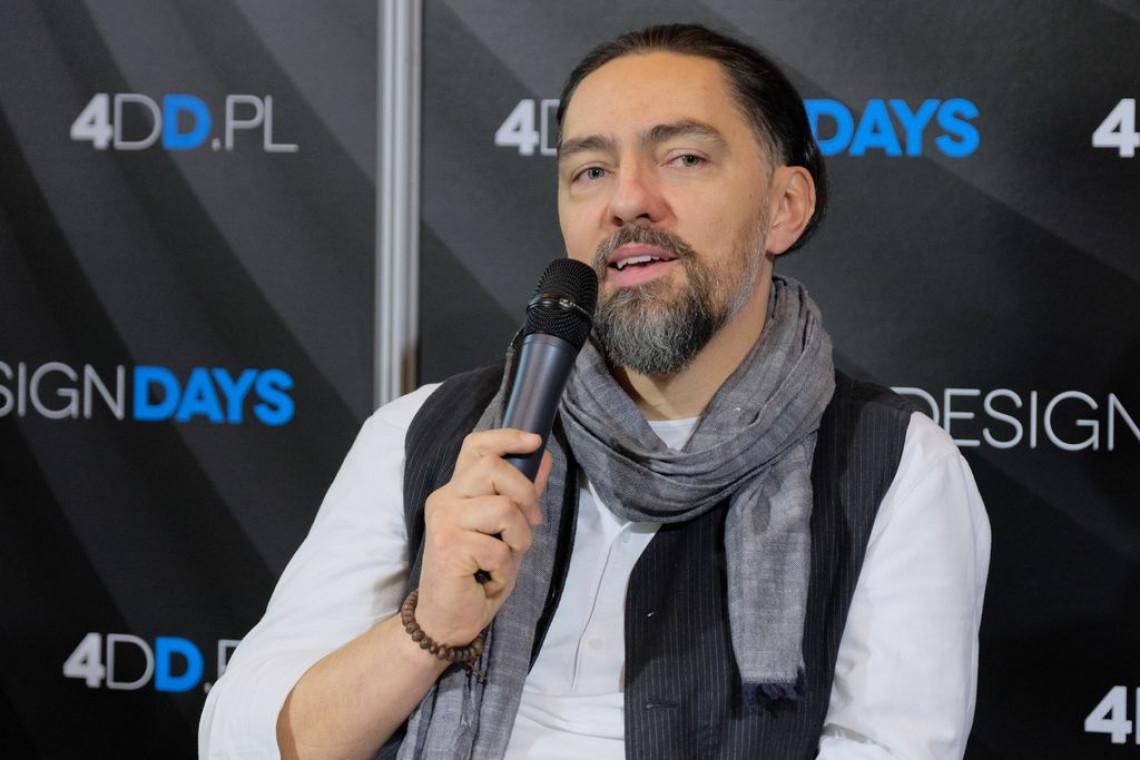 Grzegorz Goworek, współzałożyciel Studio.O. organic design gościem SDR w Toruniu