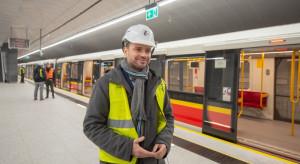 Metro dojechało na stację Trocka
