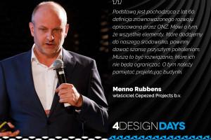 Te słowa prelegentów 4 Design Days zapamiętamy na długo