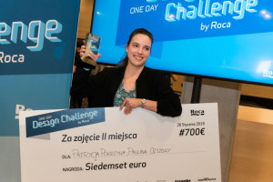 Oto zwycięzcy 2. edycji Roca One Day Design Challenge