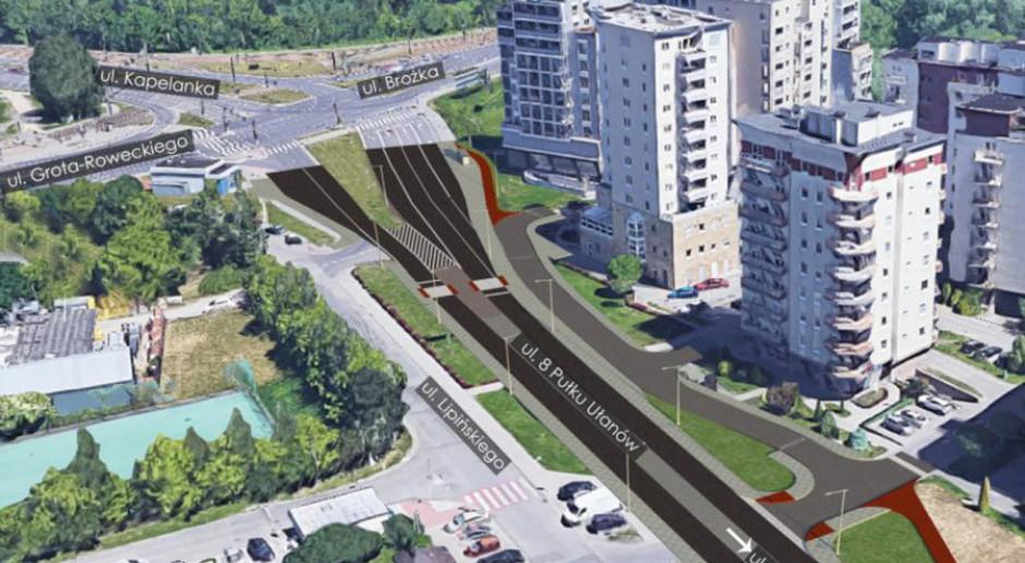 Francuzi zaprojektują ul. 8 Pułku Ułanów w Krakowie