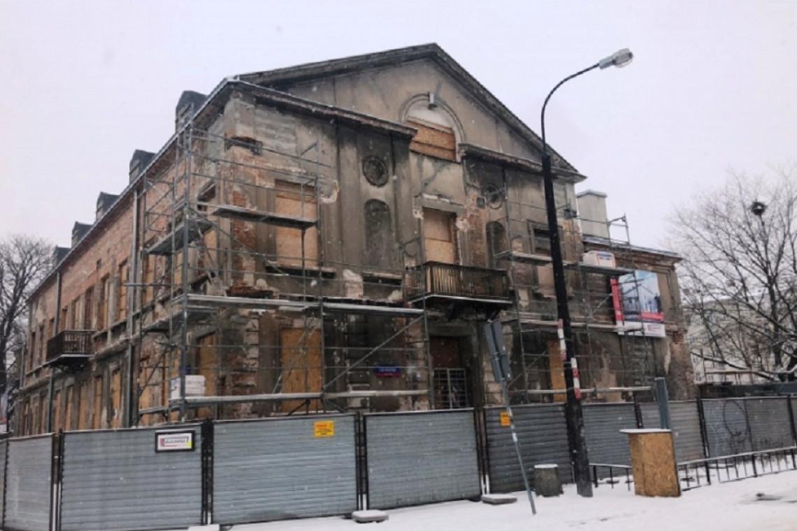 Pałacyk Konopackiego znów zalśni
