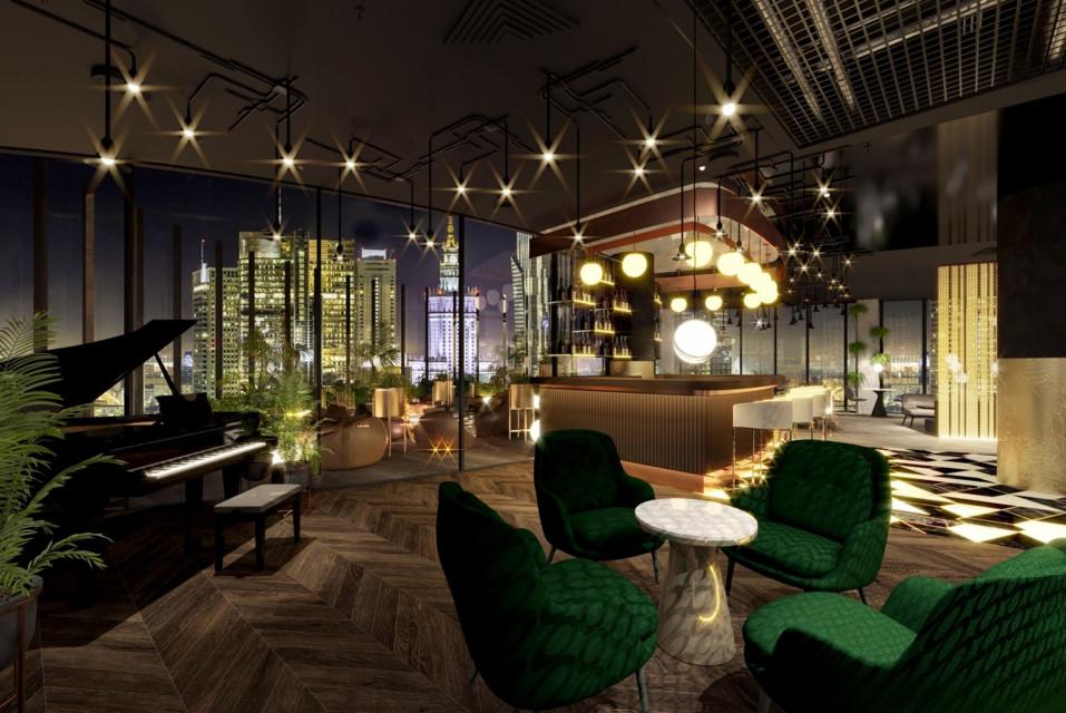Inwestor ujawnia szczegóły wyjątkowego wnętrza! Hotelowy duet zaskoczy w Warszawie
