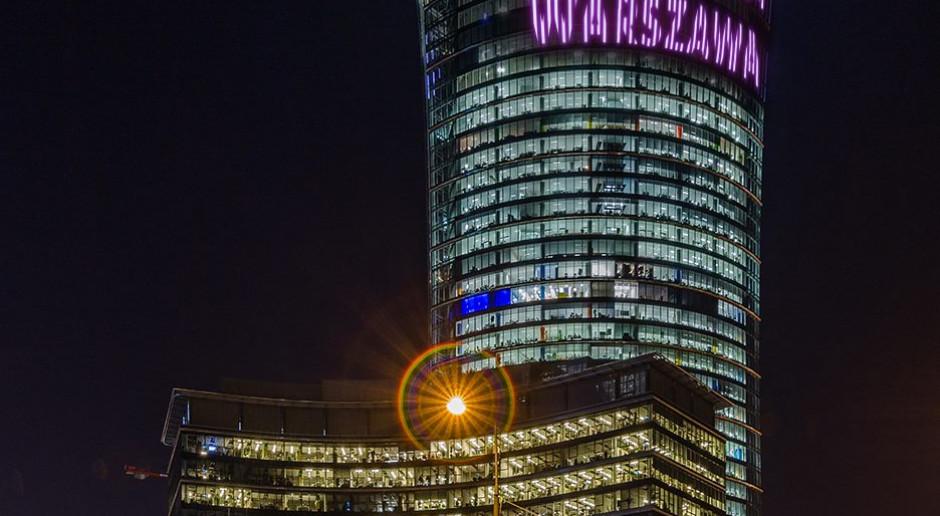 Miłość rozbłyśnie na Warsaw Spire