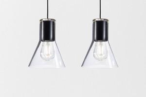 Czescy projektanci ciekawie połączyli nowoczesne oświetlenie ze szkłem