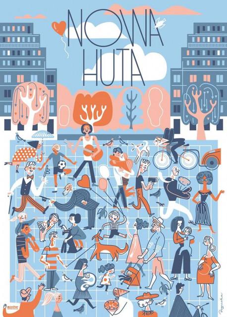 Znana Ilustratorka Stworzyła Plakaty Namawiające Do