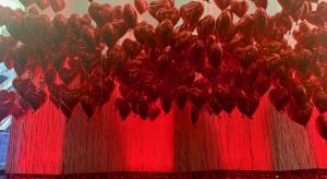 Love is in the air - wyjątkowa instalacja w Q22