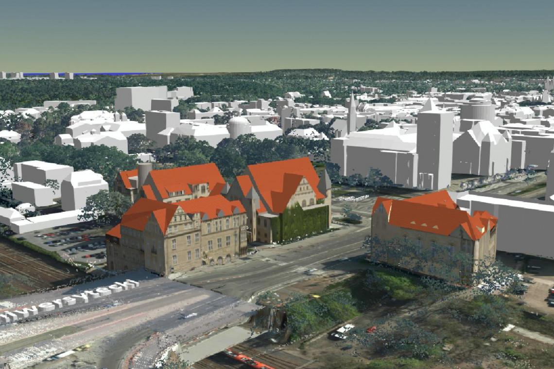 Trwa głosowanie na Model 3D Miasta Poznania