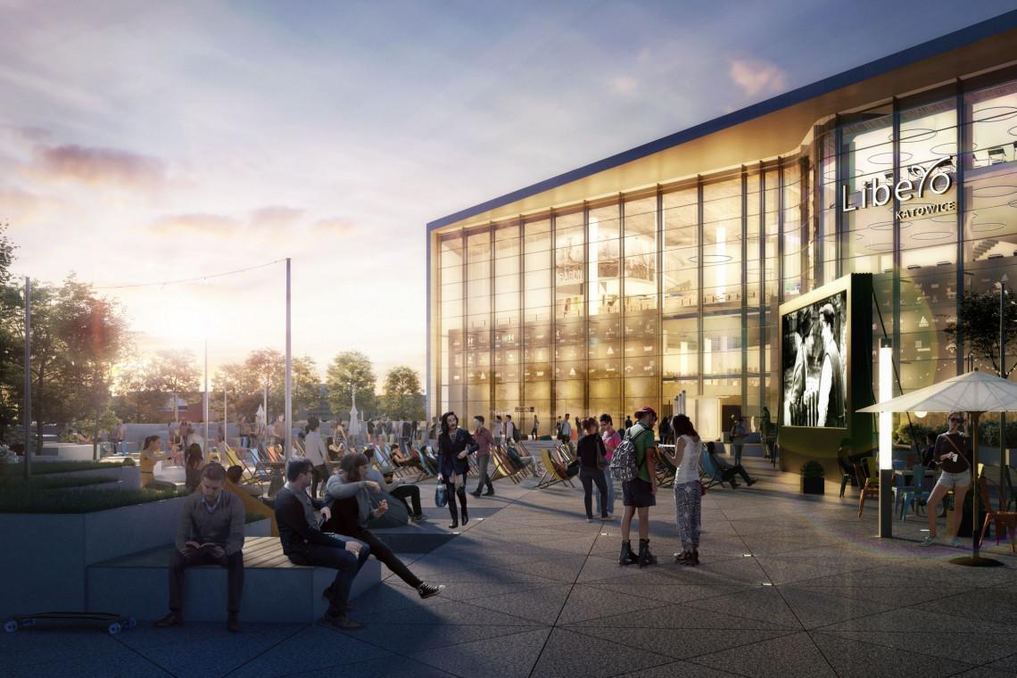Katowickie Libero będzie miało własny plac. Budowa właśnie się rozpoczyna