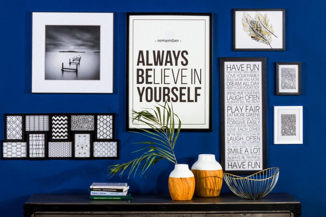 Stop Nudnym ścianom Postaw Na Plakat Typograficzny Design