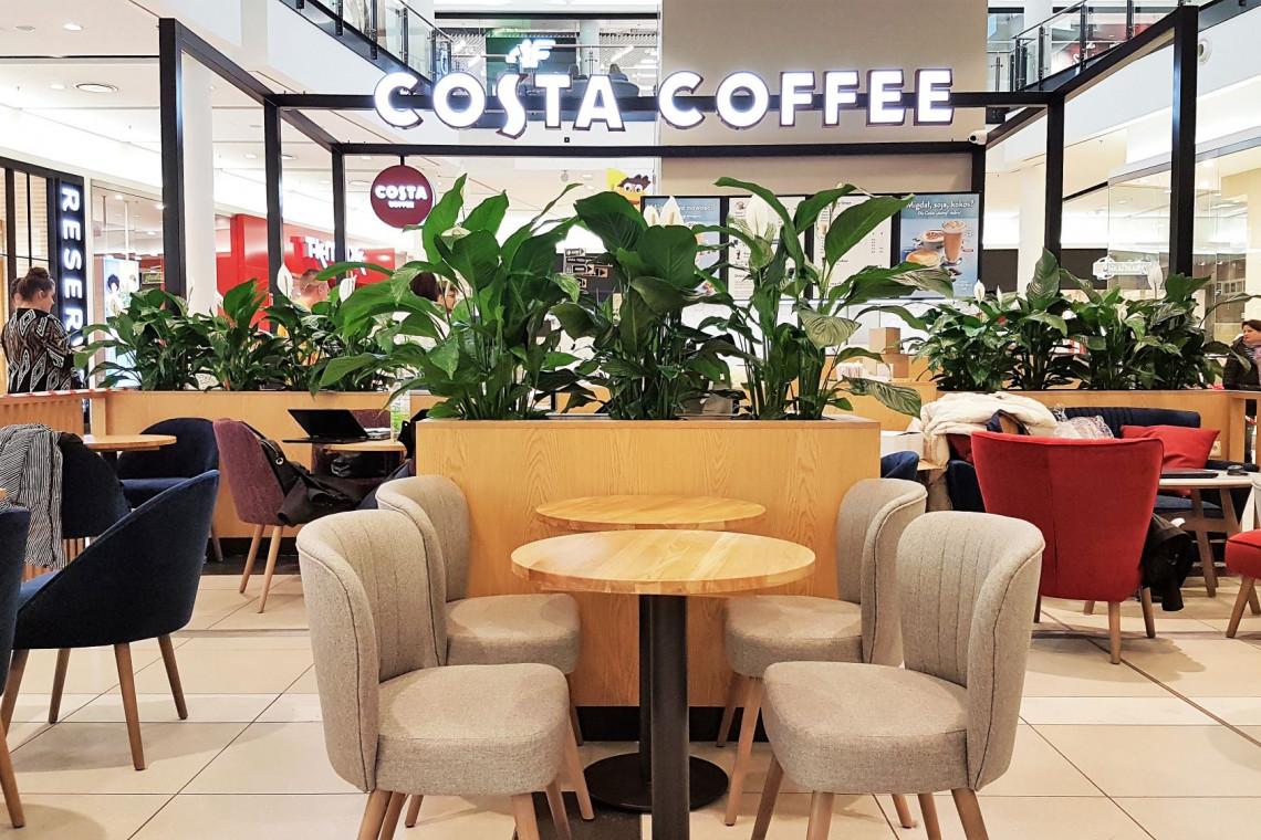 Costa Coffee debiutuje w Radomiu. Eko-design we wnętrzu
