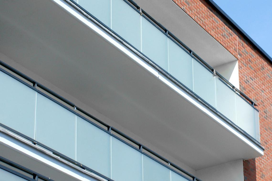 Szkło na fasadzie