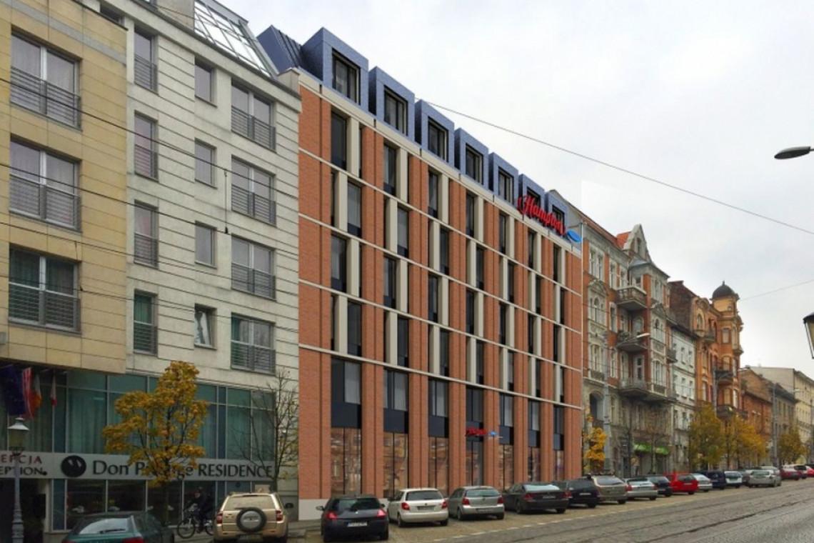 Poznańskie Stare Miasto z nowym hotelem. Hampton by Hilton otwarty