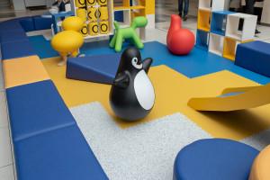 Strefa zabaw w kolejnym centrum handlowym