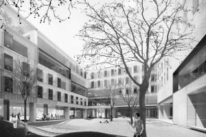 Projekt Praga z pierwszym miejscem w konkursie na akademik dla UW. Za nimi JEMS Architekci i Analog Piotr Śmierzewski