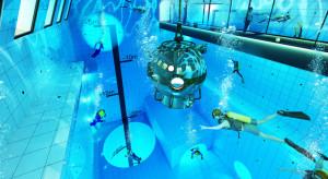 Najgłębszy basen na świecie i hotel zaglądający w głąb wody. To wszystko w Mszczonowie