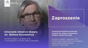 Warszawski skwer zyskuje imię Stefana Kuryłowicza