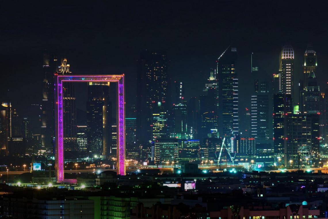 Wyjdź poza ramy w Dubaju