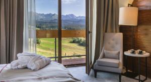 Relaks z widokiem na Tatry. Oto hotel Kopieniec szkicu FØB!a design