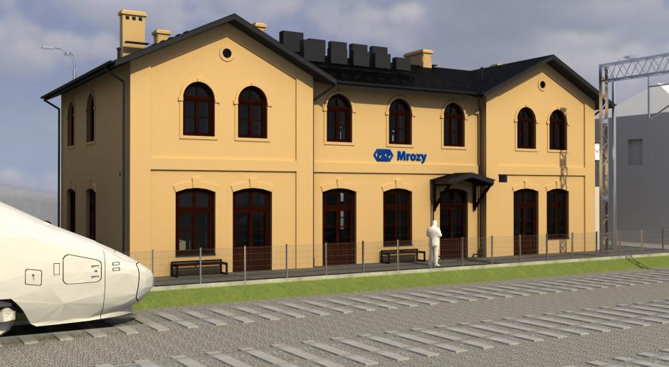 Dworzec w Mrozach odzyska dawną świetność