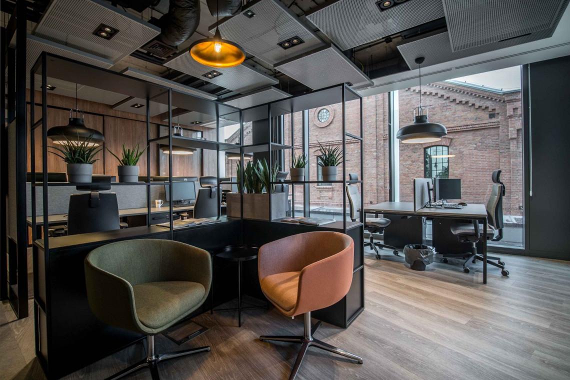 Klimatyczne biuro w duchu warszawskiej Pragi