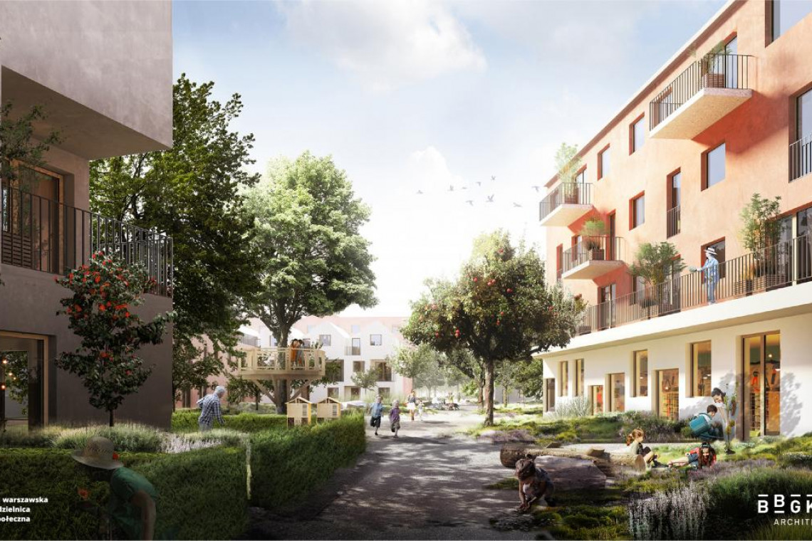 BBGK Architekci projektują Warszawską Dzielnicę Społeczną. To wyjątkowy projekt!