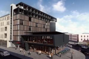 Oryginalny biurowiec w Bydgoszczy czekają zmiany. W planach rozbudowa i nowa elewacja