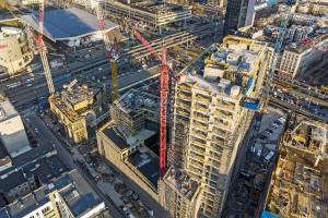 Varso I z wiechą! Nowy etap budowy kandydata na najwyższy budynek w Polsce