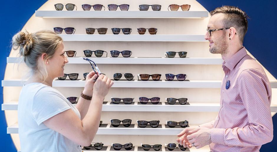 Konkurencyjność na rynku salonów optycznych sprzyja... designowi