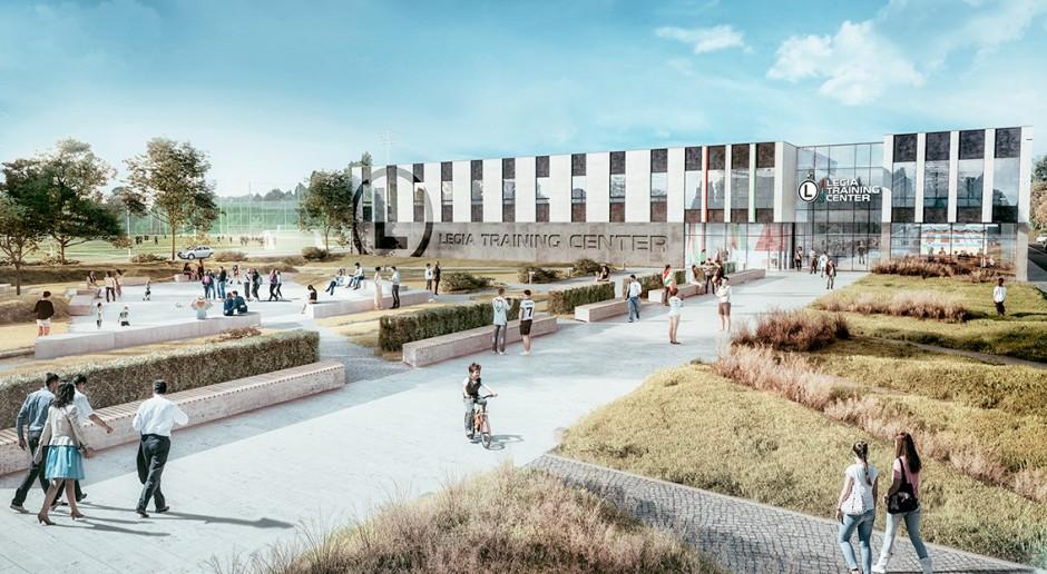 Najnowocześniejsze centrum treningowe w Polsce z kamieniem węgielnym. Rusza budowa Legia Training Center