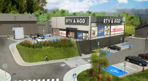 EDS Retail Park rozpoczyna ofensywę w Polsce. Architekci z Debiut II zaprojektowali pierwszą inwestycję