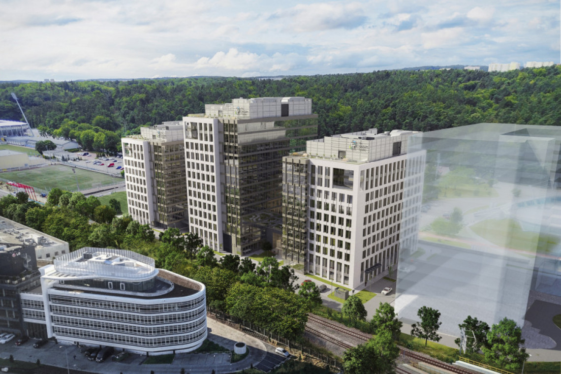 W Gdyni rusza budowa biurowego giganta. To projekt  AHR Architects