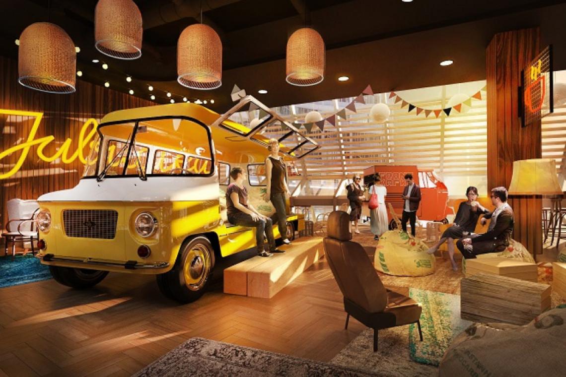 MIXD zaprojektował food court w Pasażu Grunwaldzkim