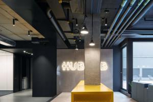 HubHub dotarł do Czech. Zaglądamy do wnętrza pierwszego coworkingu marki w Pradze