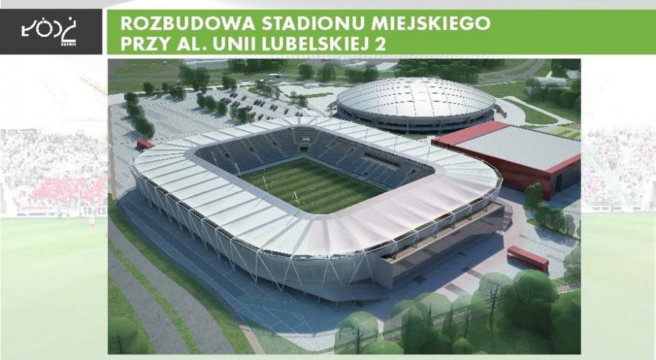 Łódzki stadion do rozbudowy