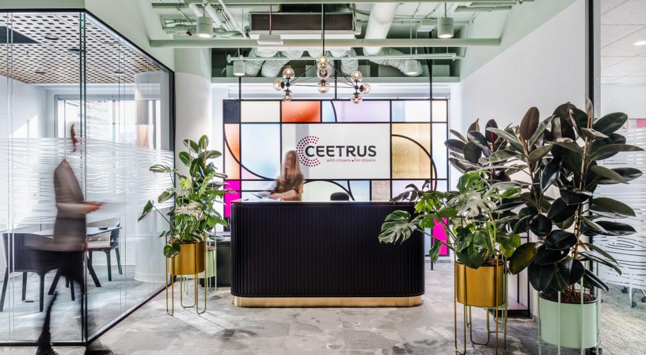 Elegancki, lecz przytulny salon. Zaglądamy do nowego biura Ceetrus w Warszawie