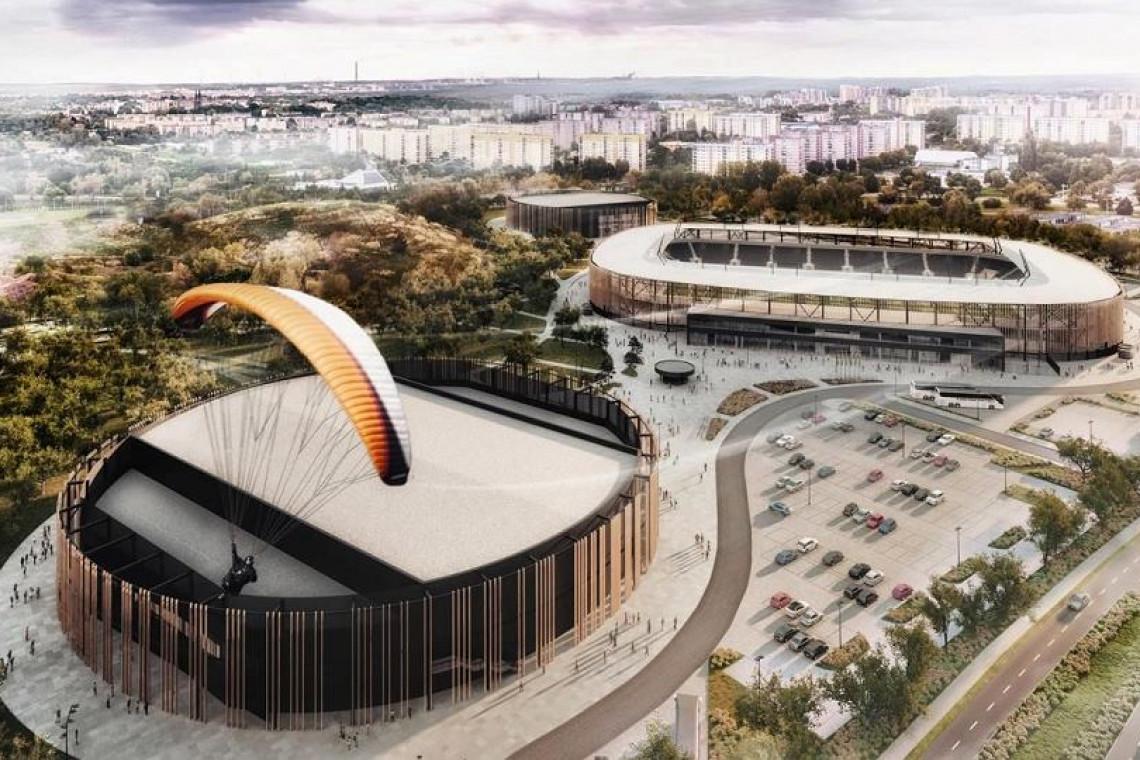 Stadion w Sosnowcu spod kreski JSK Architekci już z wykonawcą