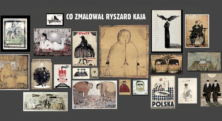 Nie żyje legenda polskiego plakatu - Ryszard Kaja