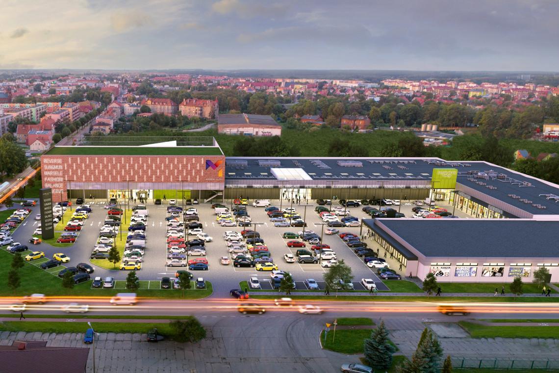 Najnowszy projekt handlowy spod kreski MOFO w blokach startowych