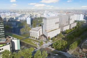 Największa inwestycja Skanska we Wrocławiu już z kamieniem. To projekt APA Wojciechowski