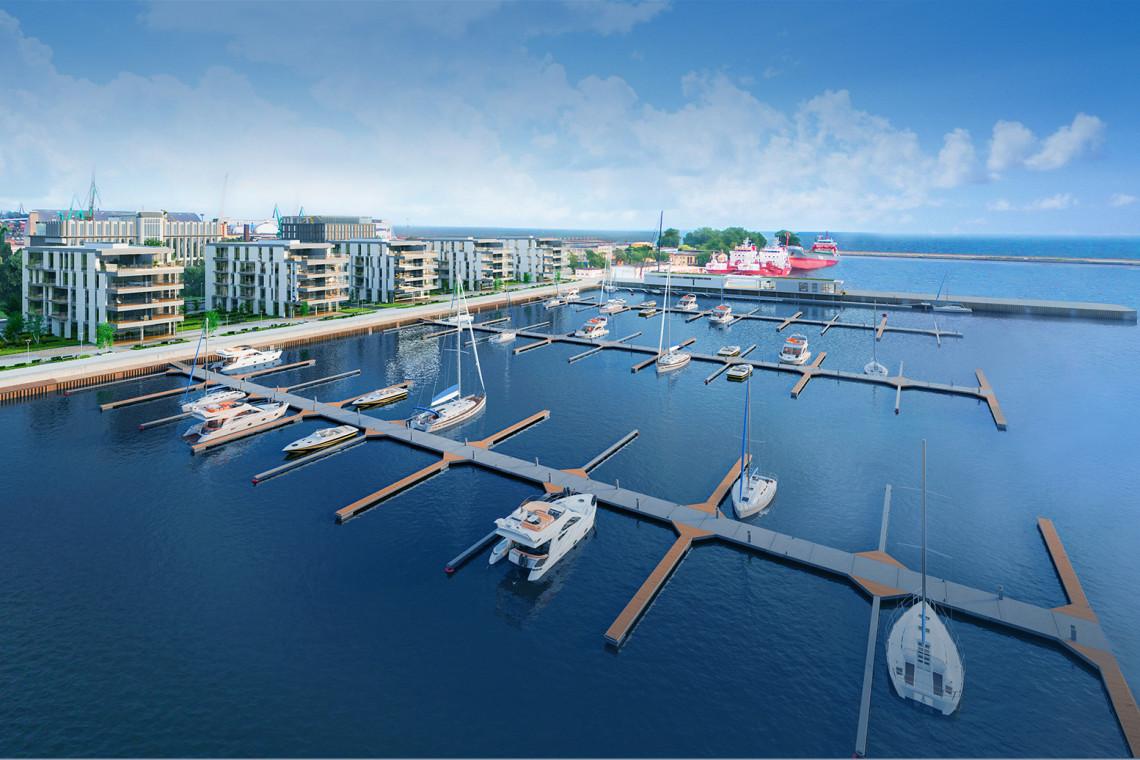 Już w majówkę żeglarze w Gdyni zacumują w nowej marinie